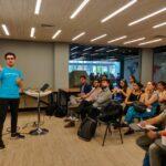 Delegación de jóvenes emprendedores UFRO realizó gira tecnológica a ecosistema de innovación en Santiago